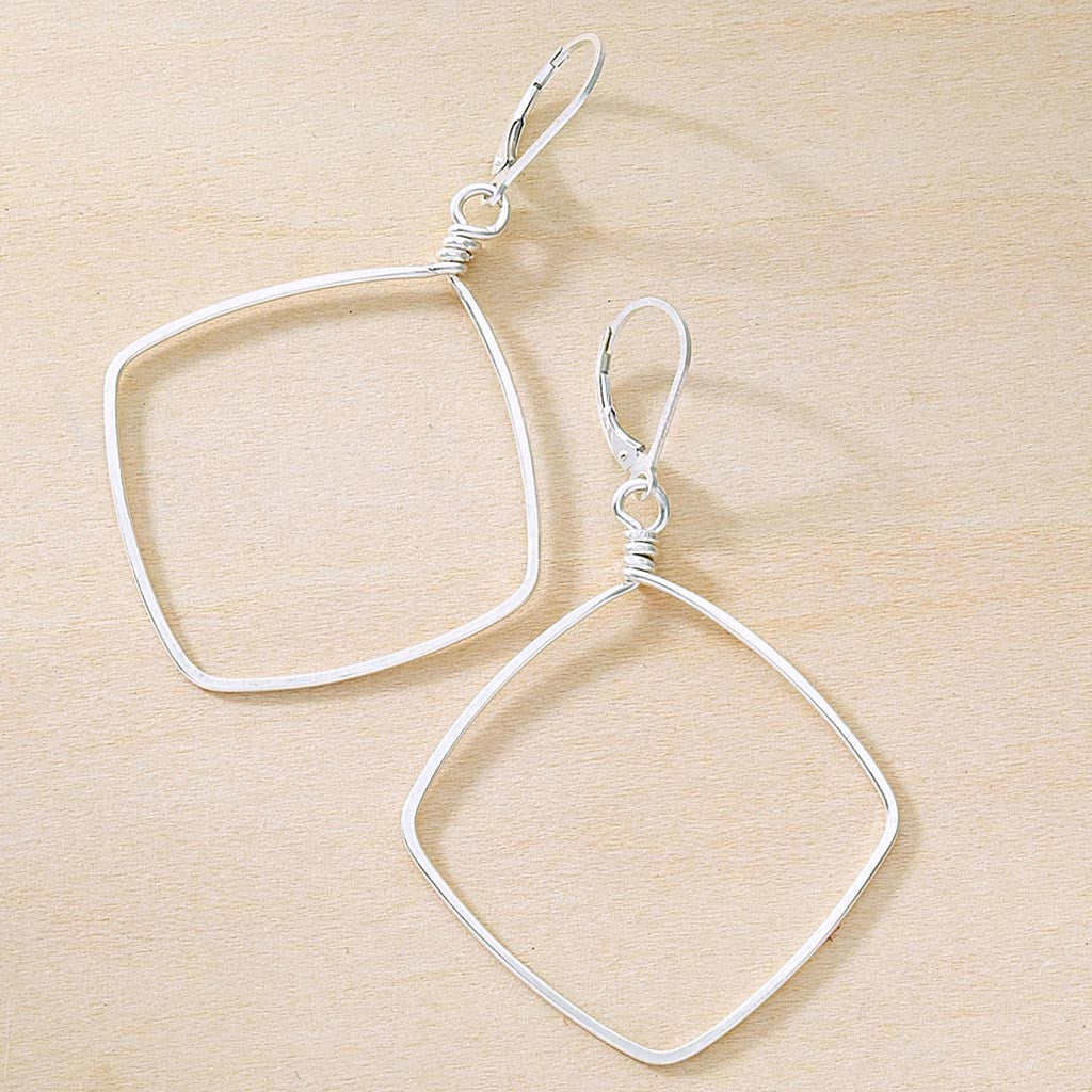 hammered wire earrings sterling silver gold filled leverback earwires