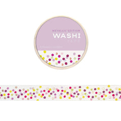 Washi Tape: confetti with gold foil - Freshie & Zero