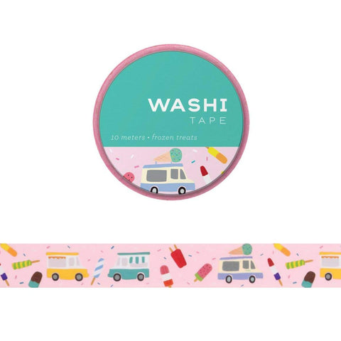 washi tape: Frozen Treats