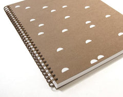 Calm Pattern Sketchbook - Freshie & Zero | artisan handmade hammered jewelry | handmade in Nashville, TN