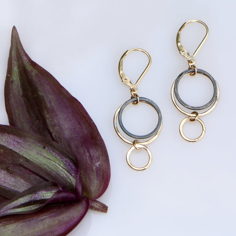 Evening Orbit Earrings