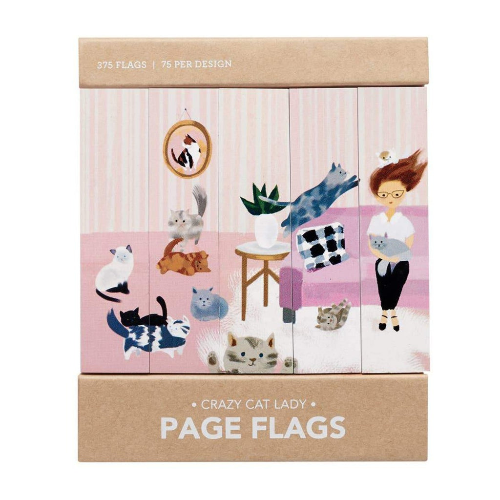 Page Flags: Crazy Cat Lady - Freshie & Zero