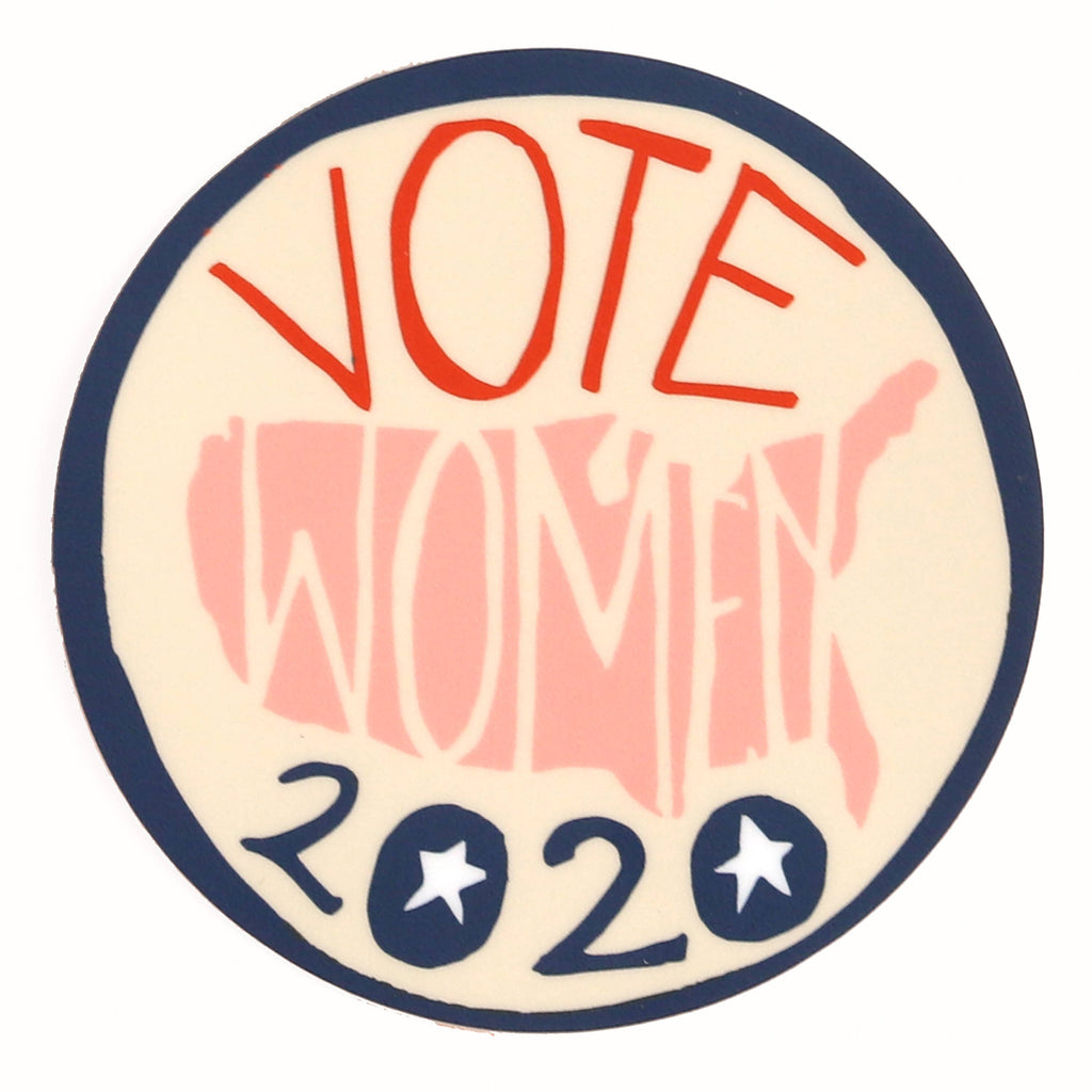 Votes for Women 2020 USA Sticker - Freshie & Zero Studio Shop