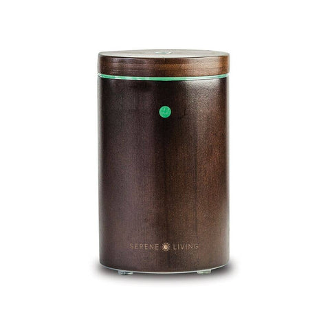 Portable Essential Oil Diffuser - Bamboo Wood