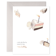 E. Frances Cards - Birthday Wishes - Freshie & Zero Studio Shop