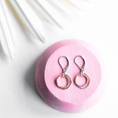 mini caldera earrings - Freshie & Zero Studio Shop