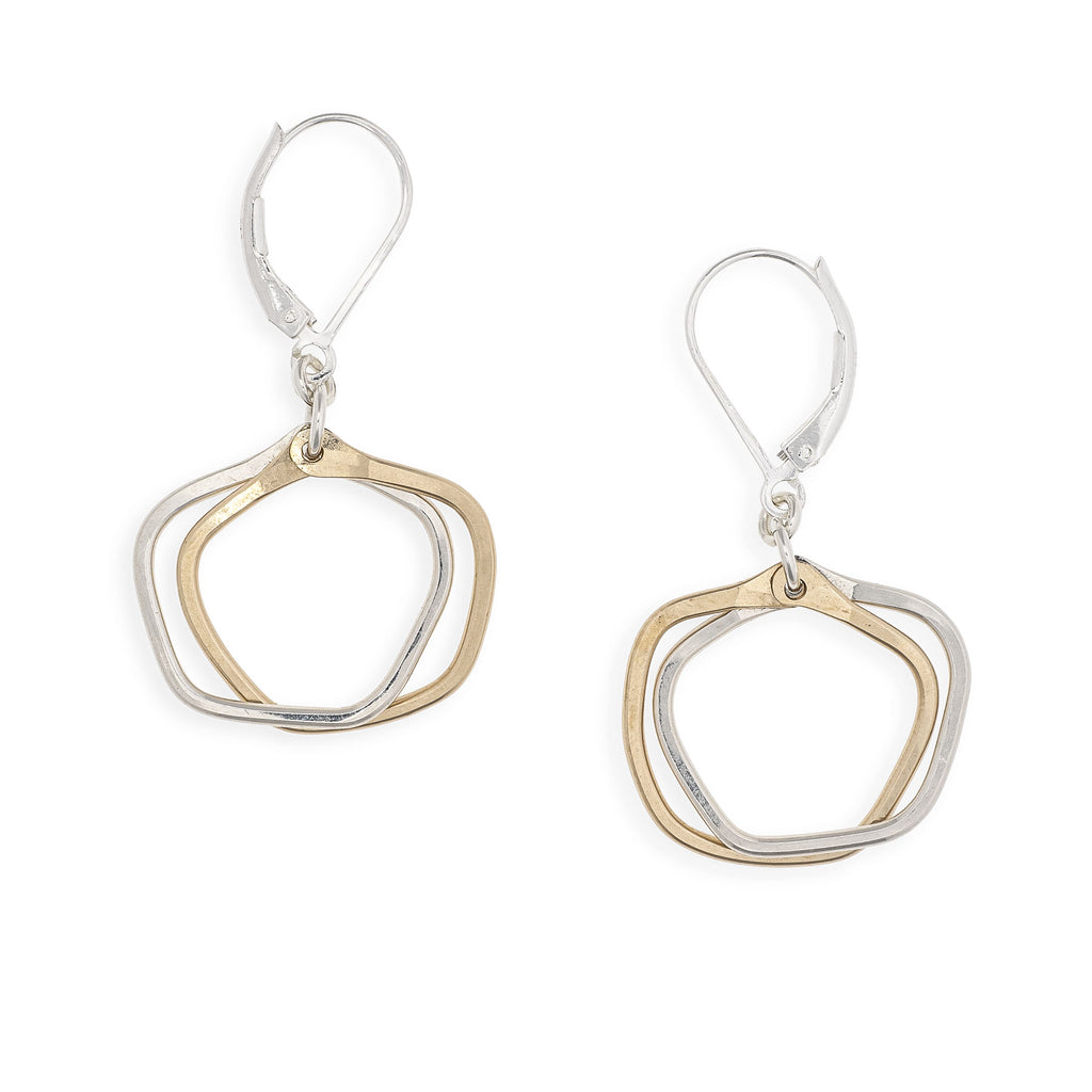 golden shade earrings - Freshie & Zero Studio Shop