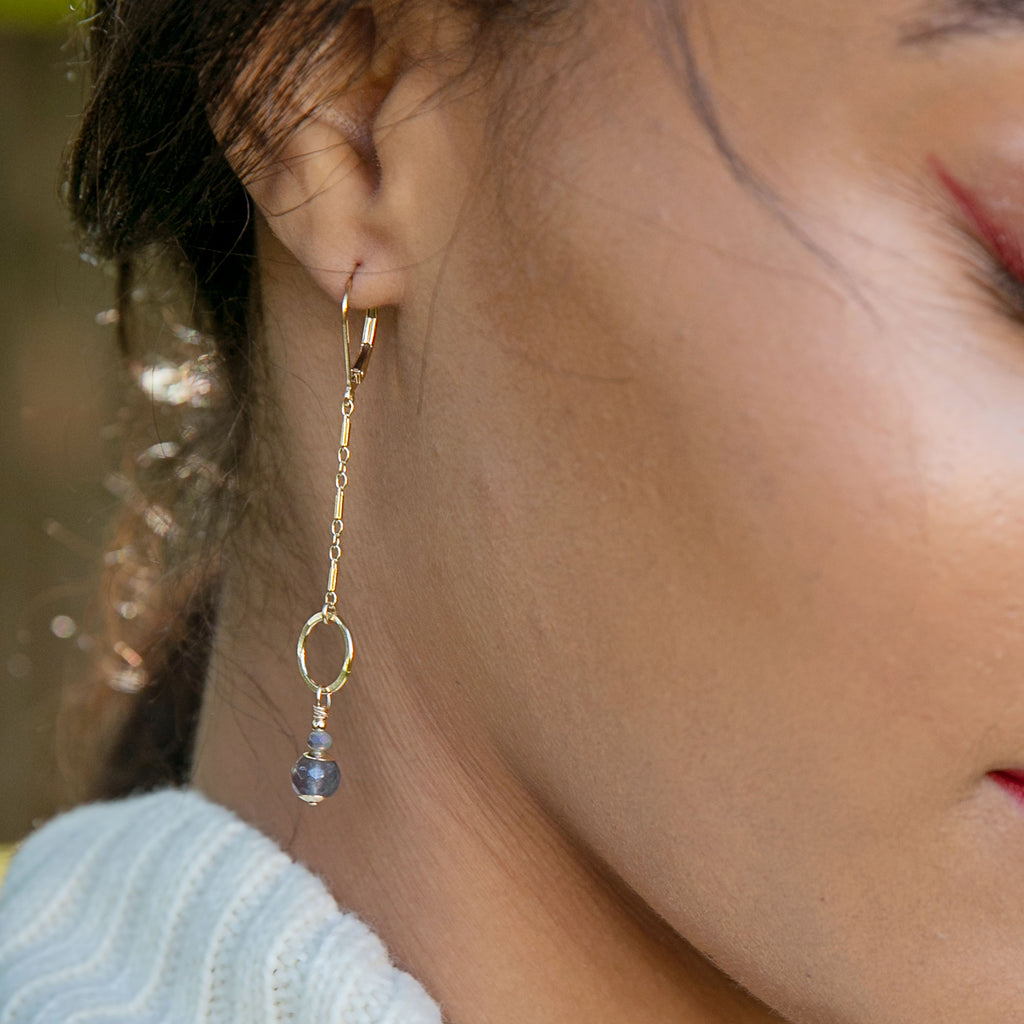 Golden Sprig Earrings - Freshie & Zero Studio Shop