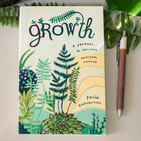 Growth: A Journal to Welcome Personal Change