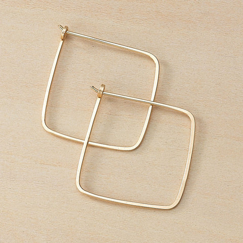 minimal small square hoops