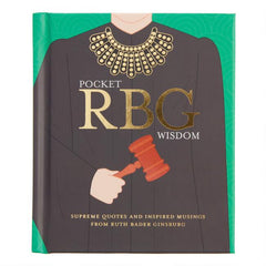 Pocket RBG Wisdom: Ruth Bader Ginsburg Book - Freshie & Zero Studio Shop