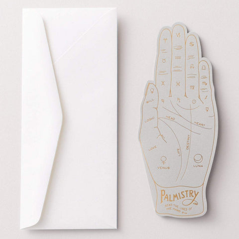 Palmistry Card by Noat Paper