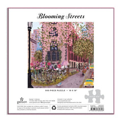 Blooming Streets Puzzle 500 Pieces - Freshie & Zero