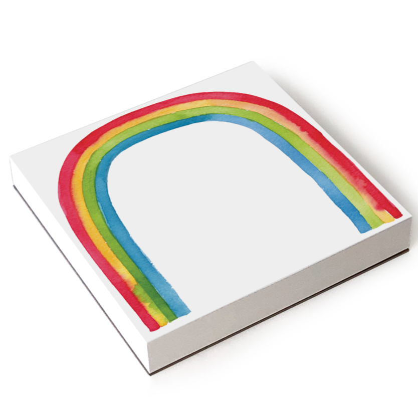 Chunky Rainbow Notepad by E. Frances Paper - Freshie & Zero Studio Shop