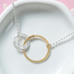 love necklace - mother of five - Freshie & Zero Studio Shop