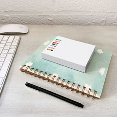Chunky Exclamation Notepad by E. Frances Paper - Freshie & Zero Studio Shop