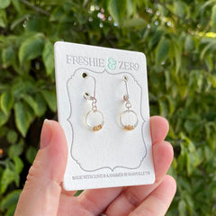 Mini Sparky Stitch Earrings - Freshie & Zero Studio Shop