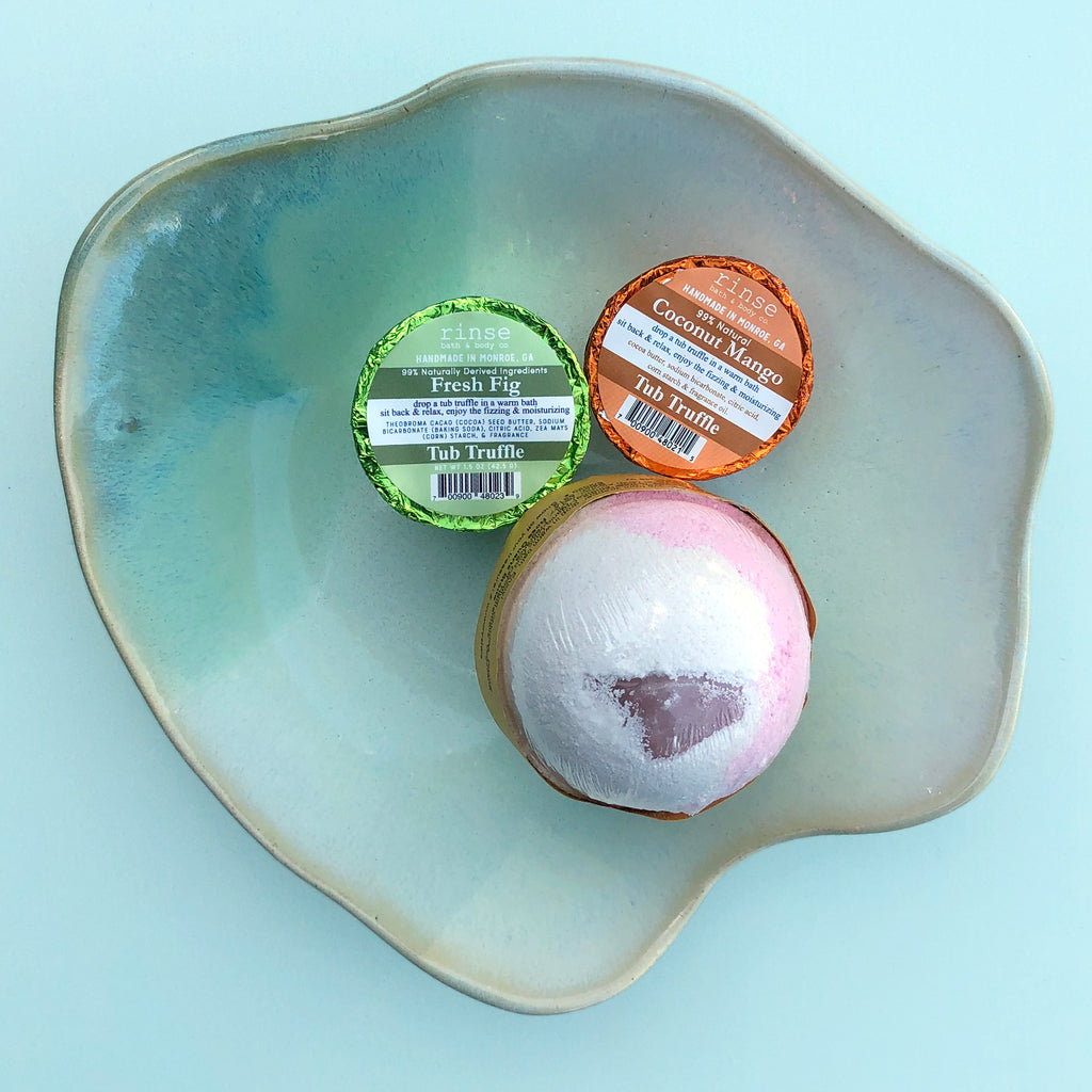 Gift Set - You are the (bath) Bomb - Freshie & Zero | artisan handmade hammered jewelry | handmade in Nashville, TN