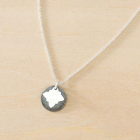 inky vignette necklace