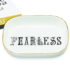 Typography Tray - Fearless - Freshie & Zero Studio Shop