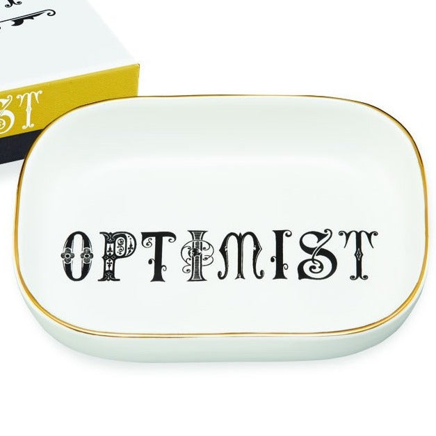 Typography Tray - Optimist - Freshie & Zero Studio Shop