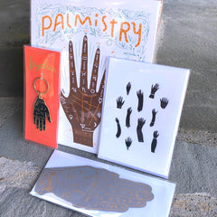 Palmistry Art Print by Gingiber - 8x10