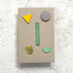 Geometric Post Earring Set by Sibilia - Pastry - Freshie & Zero Studio Shop