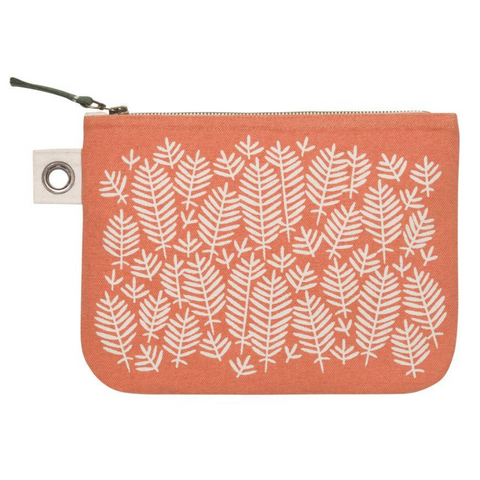 Large Zipper Pouch - Orange Hill & Dale