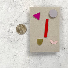 Geometric Post Earring Set by Sibilia - Provence