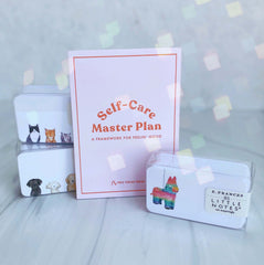 Self-Care Master Plan Card Pack - Freshie & Zero Studio Shop