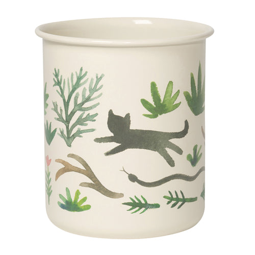 Danica Studio Pencil Cup - Secret Garden - Freshie & Zero Studio Shop