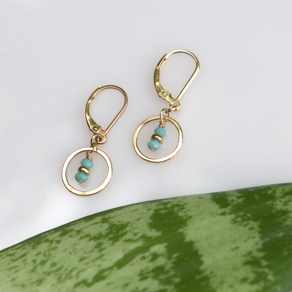Seedling Sky Earrings - Freshie & Zero Studio Shop