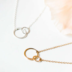 sisters necklace - Freshie & Zero