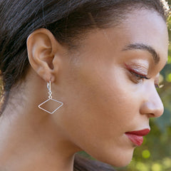 Skip Earrings - Freshie & Zero | artisan handmade hammered jewelry | handmade in Nashville, TN