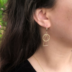 small wonder earrings - Freshie & Zero Studio Shop