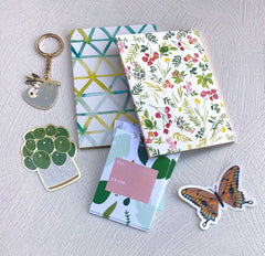 Gift Tags - Green Leaves - Freshie & Zero