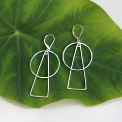 Wonder Earrings - Freshie & Zero | artisan handmade hammered jewelry | handmade in Nashville, TN