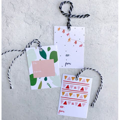 Gift Tags - Garland - Freshie & Zero Studio Shop