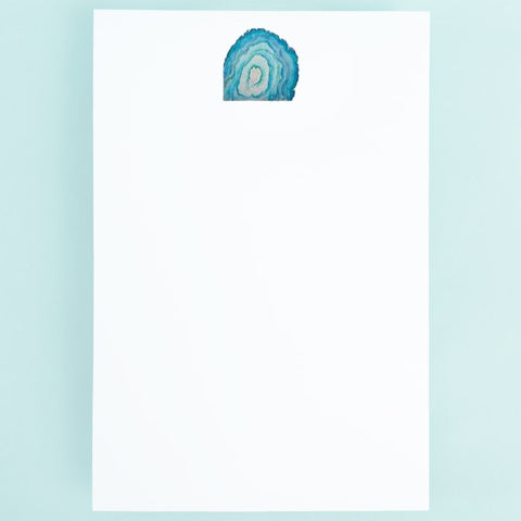 Notepad - Blue Quartz Stone