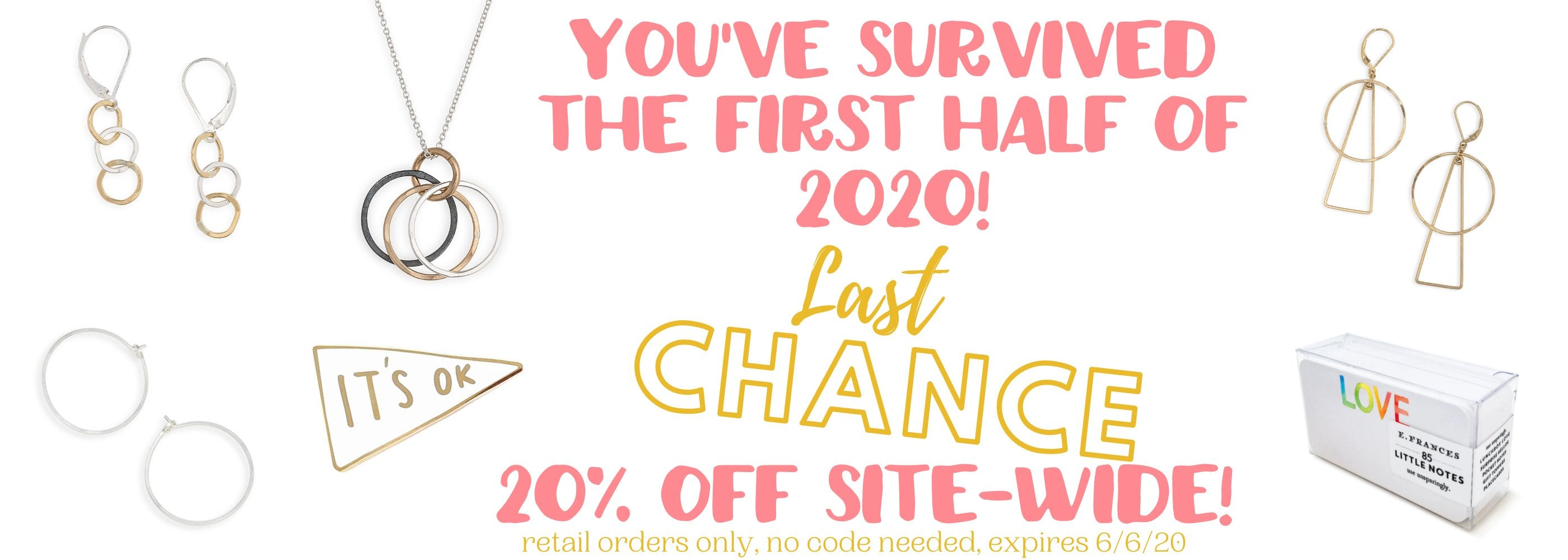 you've survived the first half of 2020!