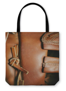 Tote Bag, Baseball Glove