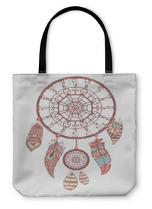 Tote Bag, Dream Catcher Romantic