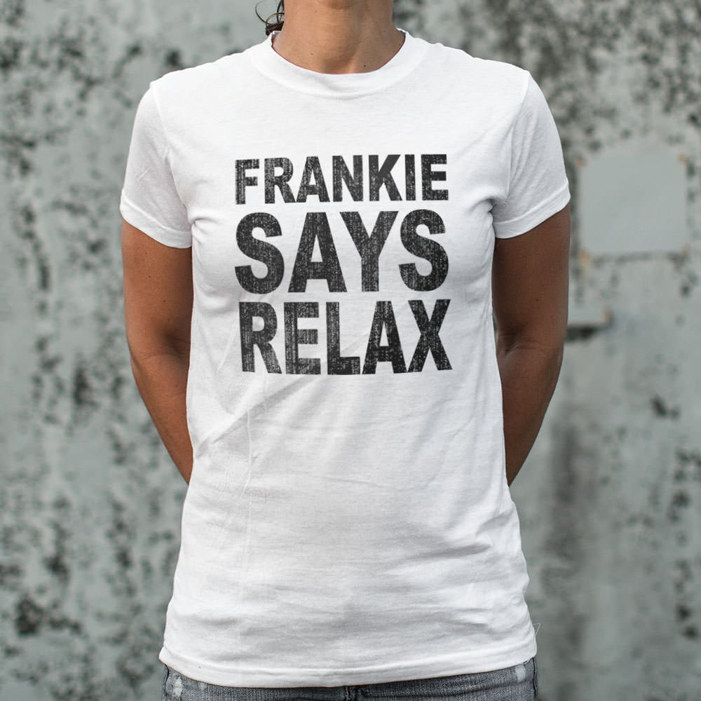 Frankie Says Relax T-Shirt (Ladies)