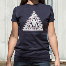 Load image into Gallery viewer, Lambda Lambda Lambda T-Shirt (Ladies)