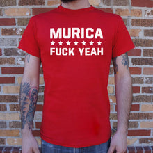 Load image into Gallery viewer, Murica Fuck Yeah T-Shirt (Mens)