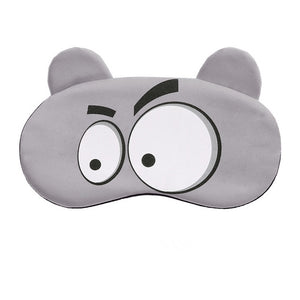Cotton Cartoon Face Sleep Eye Mask