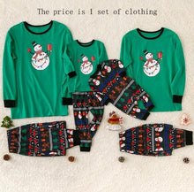 Load image into Gallery viewer, Family Pajamas Set Christmas