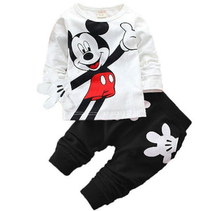 Mickey  Mouse  Children's Suit 3pcs