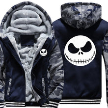 Load image into Gallery viewer, Nightmare Before Christmas Fleece Hoodie