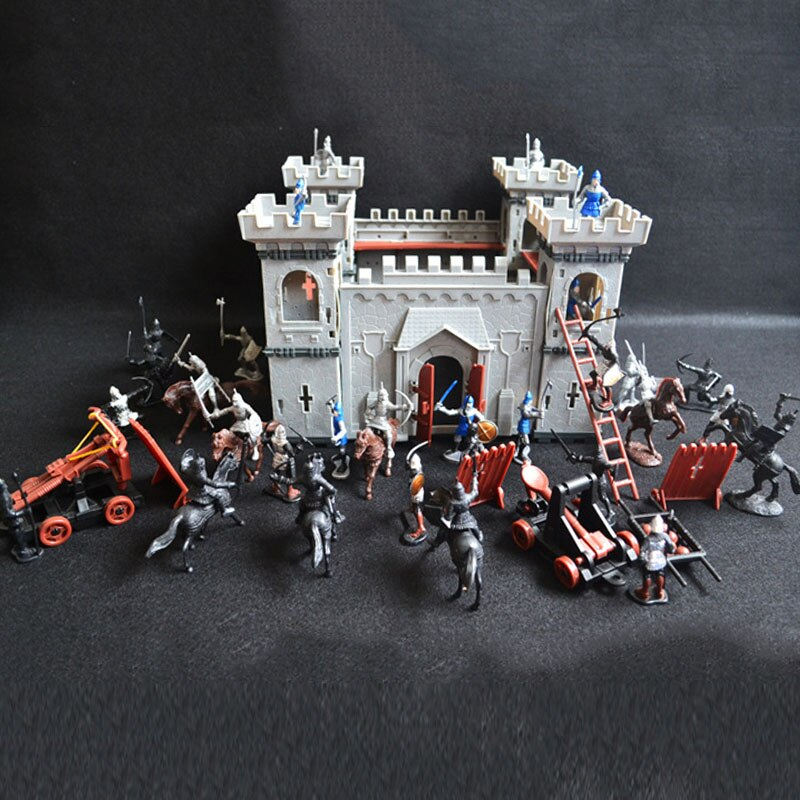 Medieval Castle Knights playset